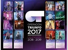 Operación Triunfo 2017 Calendario 20182019 + Singles