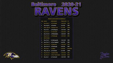 baltimore ravens wallpaper schedule
