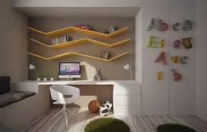 Weathered Wood Cabinets by 10 Cool Kids Bedrooms With Colorful Space Home Design