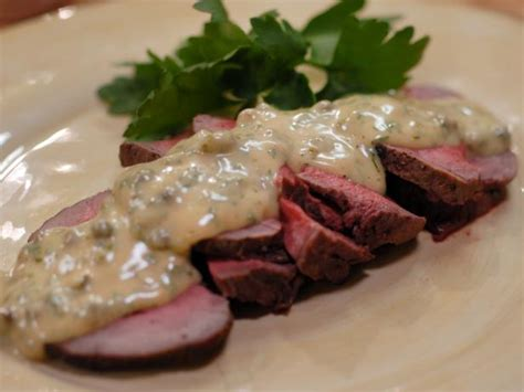 She has an ma in food research from stanford university. Roast Beef Tenderloin with Remoulade Sauce : Recipes : Cooking Channel Recipe | Laura Calder ...