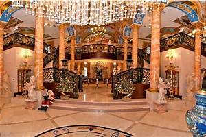 Gaudy 25000 Square Foot Mega Mansion In Southwest Ranches