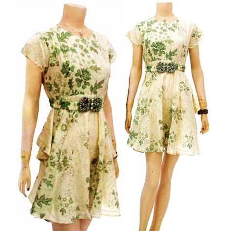 model dress batik modern  pesta terbaru