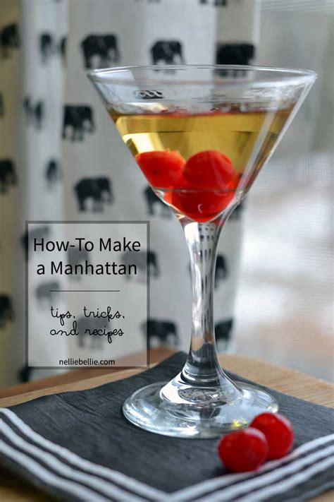 how to make a manhattan manhattan recipe and old fashioned recipe nelliebellie