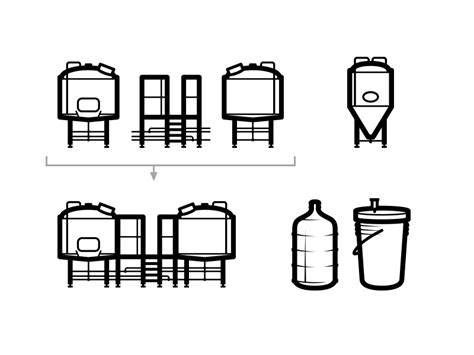 brewing icons  mark caron  dribbble