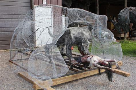 Werewolf Prop Haunted Trail Ideas Pinterest
