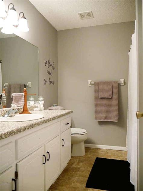 diy  fresh bathroom wall art project tutorial