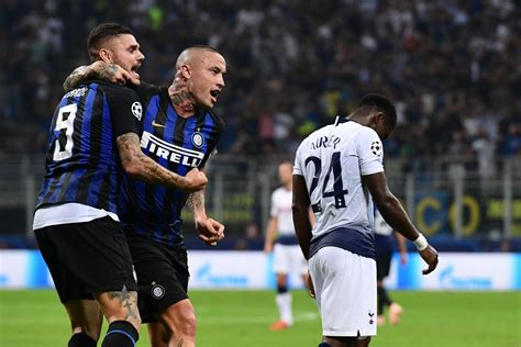 Inter Milan fights back stuns Tottenham Hotspur at San Siro