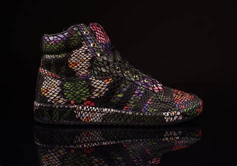 "Adidas Originals Top Ten High ""floral Snake"" Sneakernewscom"