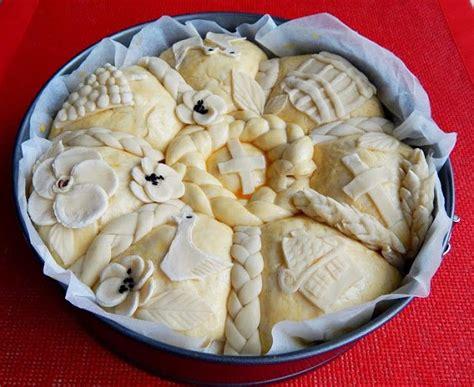 Slavski Kolač Food Flower Bread Recipe Serbian Recipes