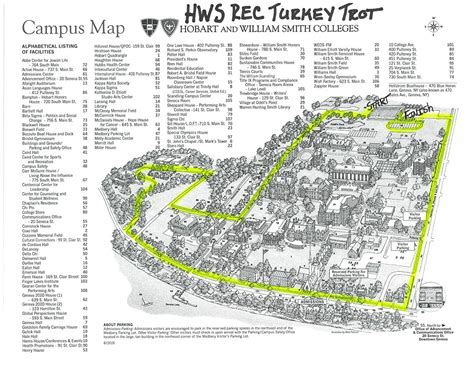Hobart And William Smith Campus Map.College Map William And Campus Hobart Smith
