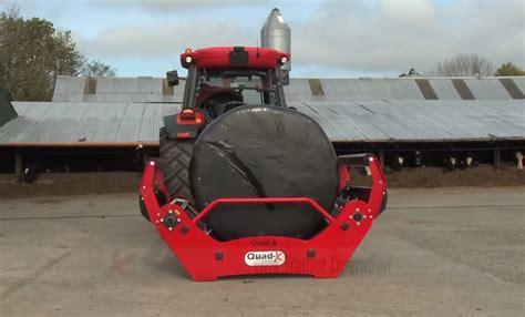 Blaney Agri Forager- Silage Bale Feeder Unroller