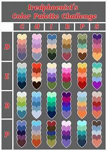 1redphoenix1, U0026, 39, S, Color, Palette, Challenge
