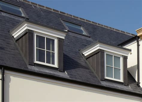 Traditional Dormer Windows by Stormking Use Traditional Lead Finishes At Prestigious