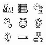 Learning Icon Icons Education Vector Library