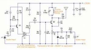 Tv Transmitter Circuit Diagram