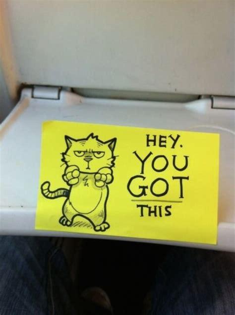 motivational cartoon notes motivational messages