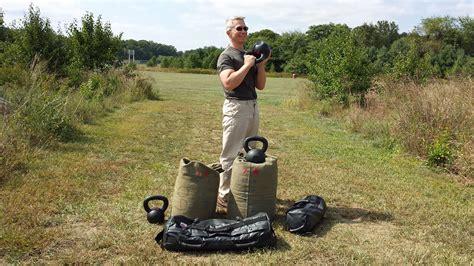 sandbag workout kettlebell carry fitness super ultimate