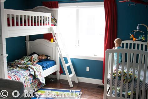Three Kids In One Bedroom  O My Family  This New Mom's Blog