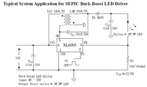 Led Circuit Diagram Switching Constant Current Driver