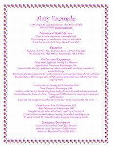 Good Resume Format  Bad Resume Format  U2013 Unm Career