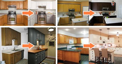 budget friendly before and after kitchen makeovers diy 25 before and after budget friendly kitchen makeover