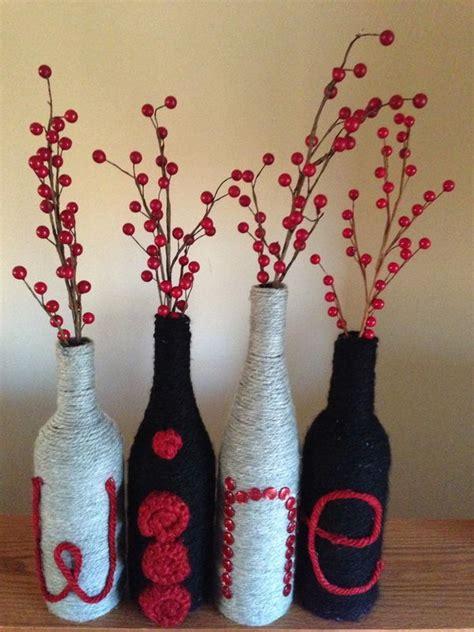 homemade wine bottle crafts hative