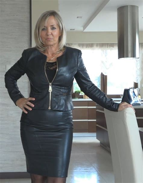 Pin By Andy Kozlowski On Leather Skirt In 2019 Leather