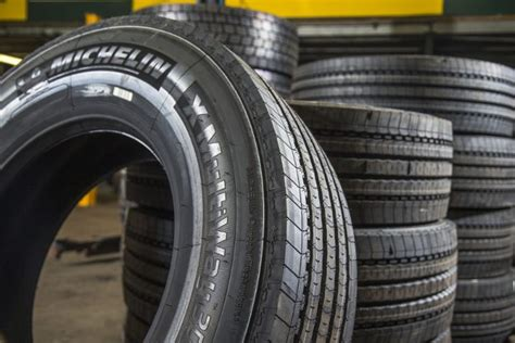 Michelin Tyre Shows Carbon Footprint Savings