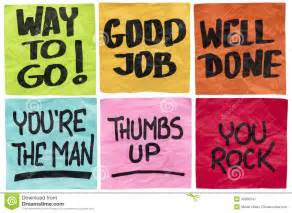 Congratulations Job Well Done Quotes