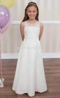robe de mariage fille robes de demoiselle pour mariage 2015 nouvelle filles blanches communion robes pour