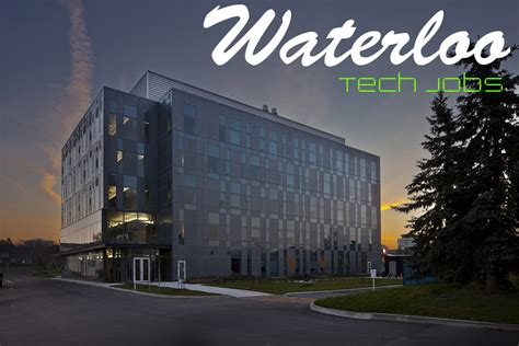 waterloo tech jobs   waterloo