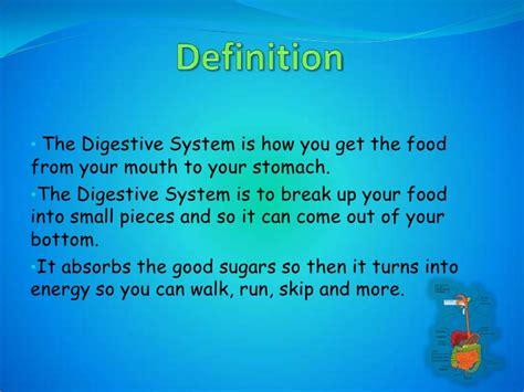 digestive system definition applecool info