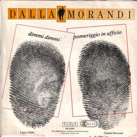 Morandi Testi gianni morandi discografia cover testi