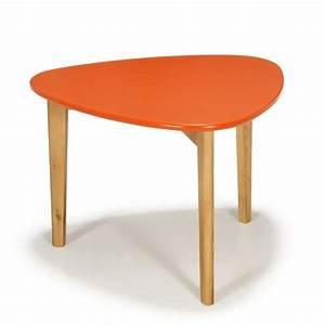 Table Basse Retro : siwa table basse scandinave vintage corail 60cm achat vente table basse siwa table basse ~ Teatrodelosmanantiales.com Idées de Décoration