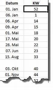 Kalenderwoche Berechnen : pia bork excel ~ Themetempest.com Abrechnung