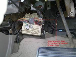 Is Vss Wire Available Inside Cab Of 2004 Tahoe