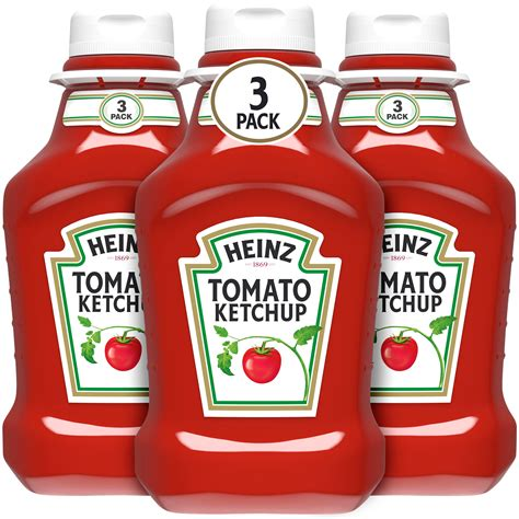 Heinz Tomato Ketchup 3 - 44 oz Bottles - Walmart.com ...