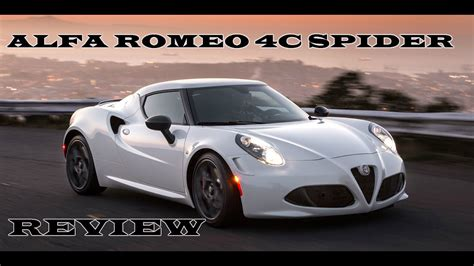 Alfa Romeo 4c // 2015 Test Drive // Top Speed