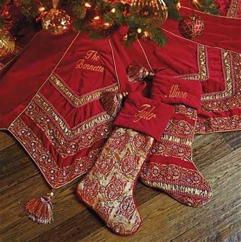 elegant christmas tree skirts tree skirts and white way