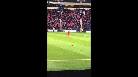 Best Goal Celebration at Hampden Aberdeen FC - YouTube