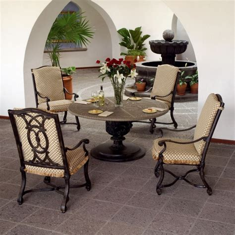 villa dining collection by woodard landgrave family leisure