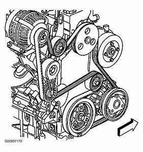 1999 Oldsmobile Intrigue Serpentine Belt Diagram