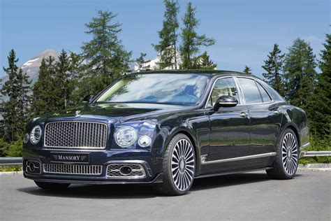 bentley mansory prices mansory fiddles with the luxurious bentley mulsanne