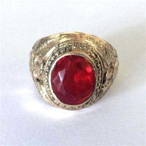 mens star ruby ring  sale classifieds
