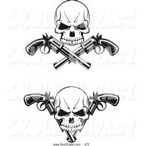 Black and White Skull Tattoos