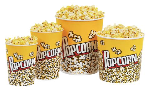 Popcorn Png Transparent Image