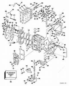 Johnson 1999 25 - J25reeb  Cylinder  U0026 Crankcase