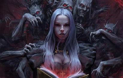 Demon Witch Hair Woman Stefan Koidl Fantasy
