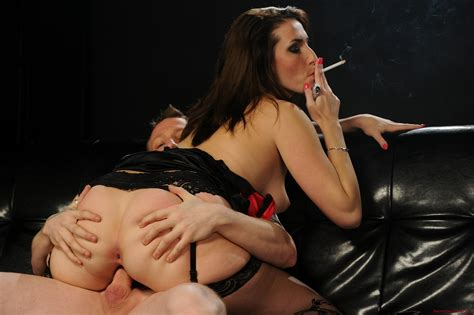 Smokeymouths 744 179 Lg  In Gallery Fuck Me While I Smoke Very Hot Smoking Sex Action