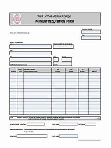 Work Orders Forms Free 7 Payment Requisition Forms In Pdf Ms Word Excel